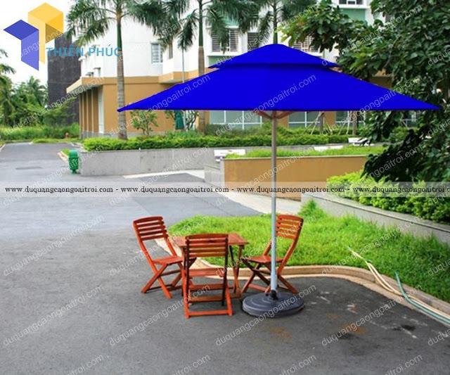 Nhận sản xuất ô dù che nắng quán cà phê bền đẹp giá rẻ
